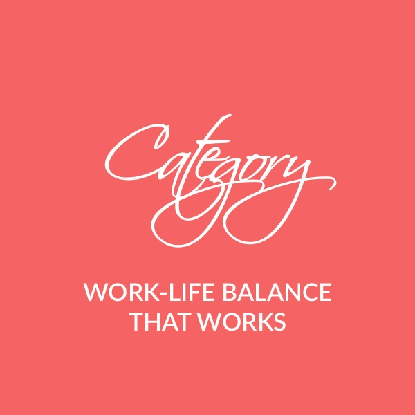 Work-life balance is not a myth. It's not a trend. It's a choice. Learn how to achieve it with a real-life actionable approach.